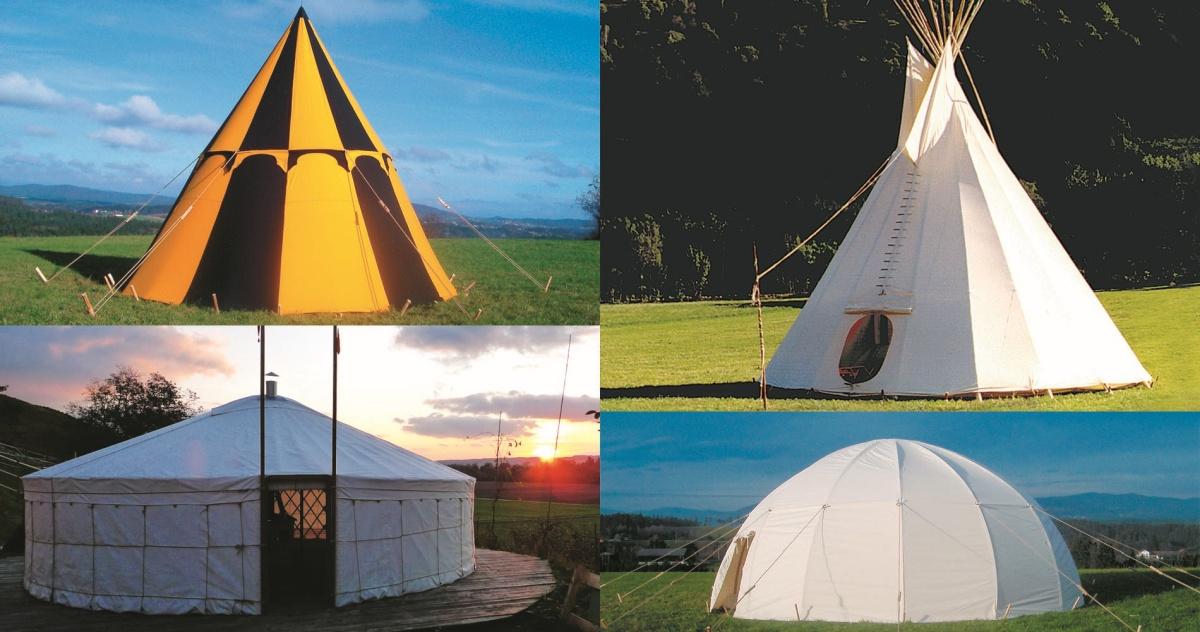 Goede Koepeltenten Pantheon | FamWest tent te kopen DV-06