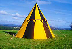 Geteld Norman Artus Merlin Avalon ... & Period Tents and Medieval Pavilions | FamWest natural tents