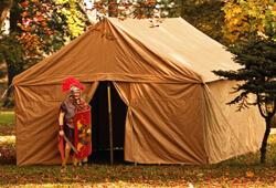 Roman tents