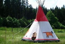Tipi - Indianerzelte