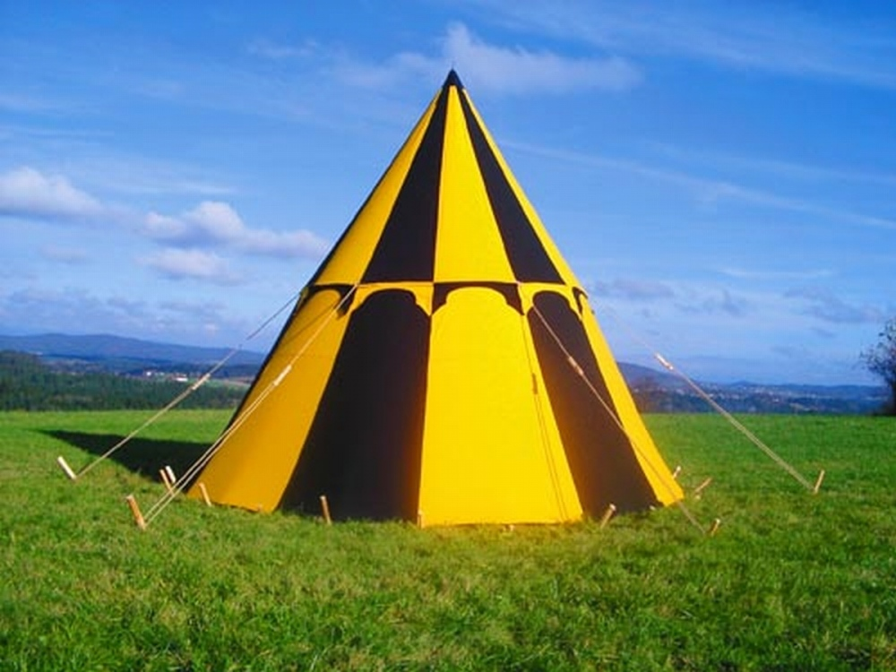 Ground plan circle & Merlin | FamWest natural tents