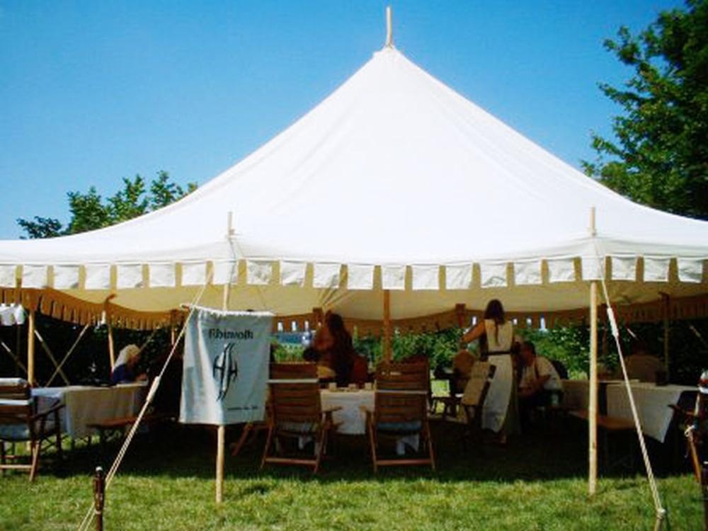Mittelalter Zelt Gebraucht : Baldakin famwest naturtält