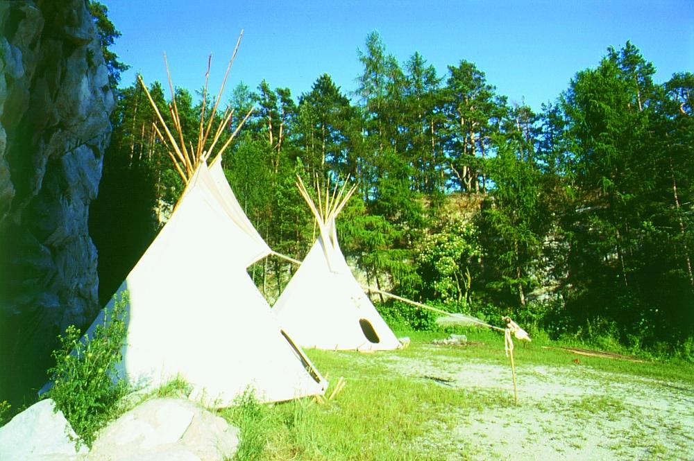Tipi - Indianerzelte | FamWest Naturzelte