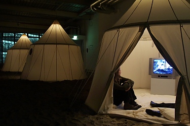 Fabrication sur mesure  FamWest tente traditionnelle
